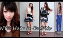 NYE Hair & OutFit Ideas 2013
