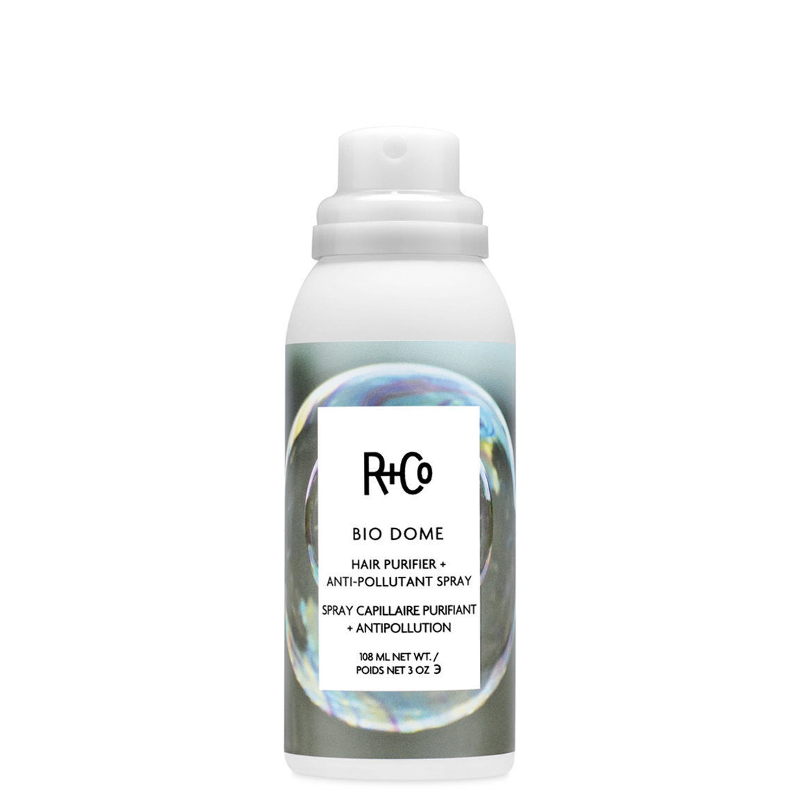 R+Co Bio Dome Hair Purifier + Anti Pollutant Spray alternative view 1 - product swatch.