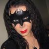 Batman vs Catwoman mask makeup