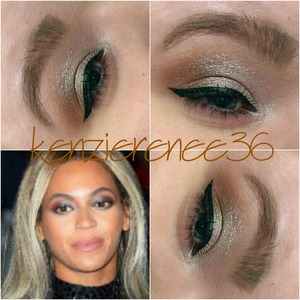 Just a softer version of this look.