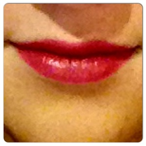 Berry lips 💄I will post the colour later, its from Lancome, lipgloss from Buxom