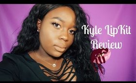 NEW Kylie Love Bite & Brown Sugar Lip Kits On WOC | Lip Swatches...Should You Buy!?
