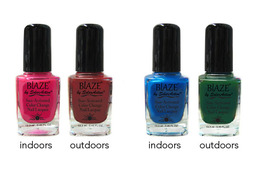 Nail Polish That Changes Color In The Sun!