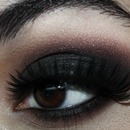 Classic Black Smokey eye 2
