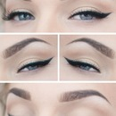 Eyebrows & playful simple liner
