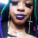 Two toned lip color