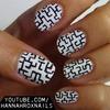 Maze Nail Art