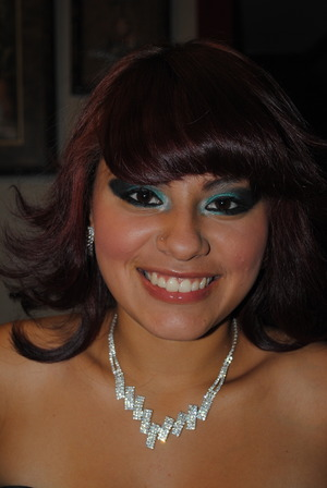 the make up I did for my boyfriends little sister :) (her homecoming)