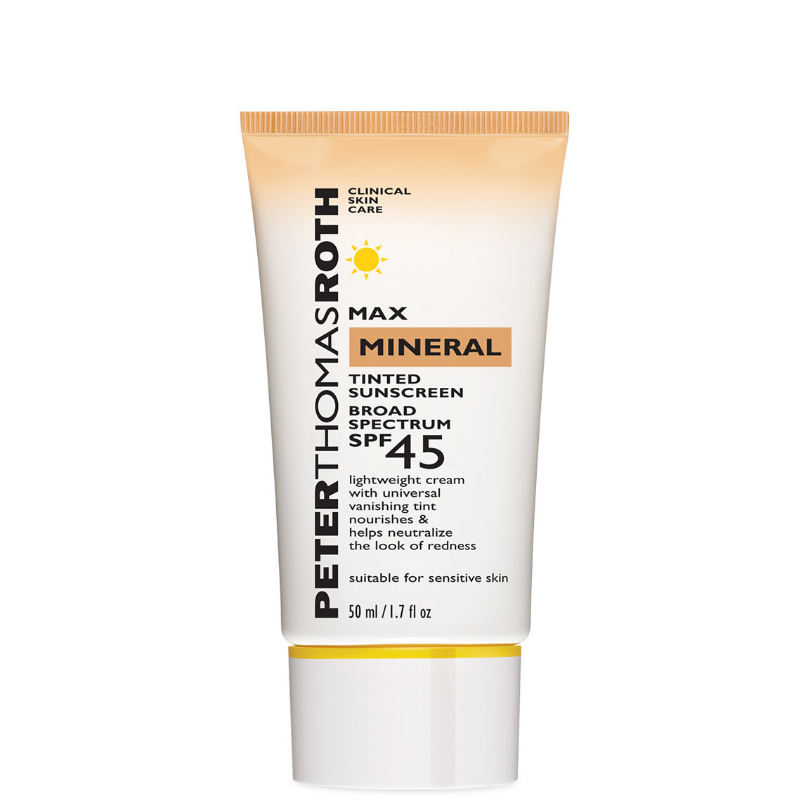 Peter Thomas Roth Max Mineral Tinted Sunscreen Broad Spectrum SPF 45 alternative view 1.