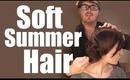 SOFT, SUMMER, RED CARPET HAIR!  (JENNIFER LAWRENCE OSCARS)