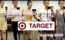 Target Spring 2019 Fashion Haul - Dressing Room Try On