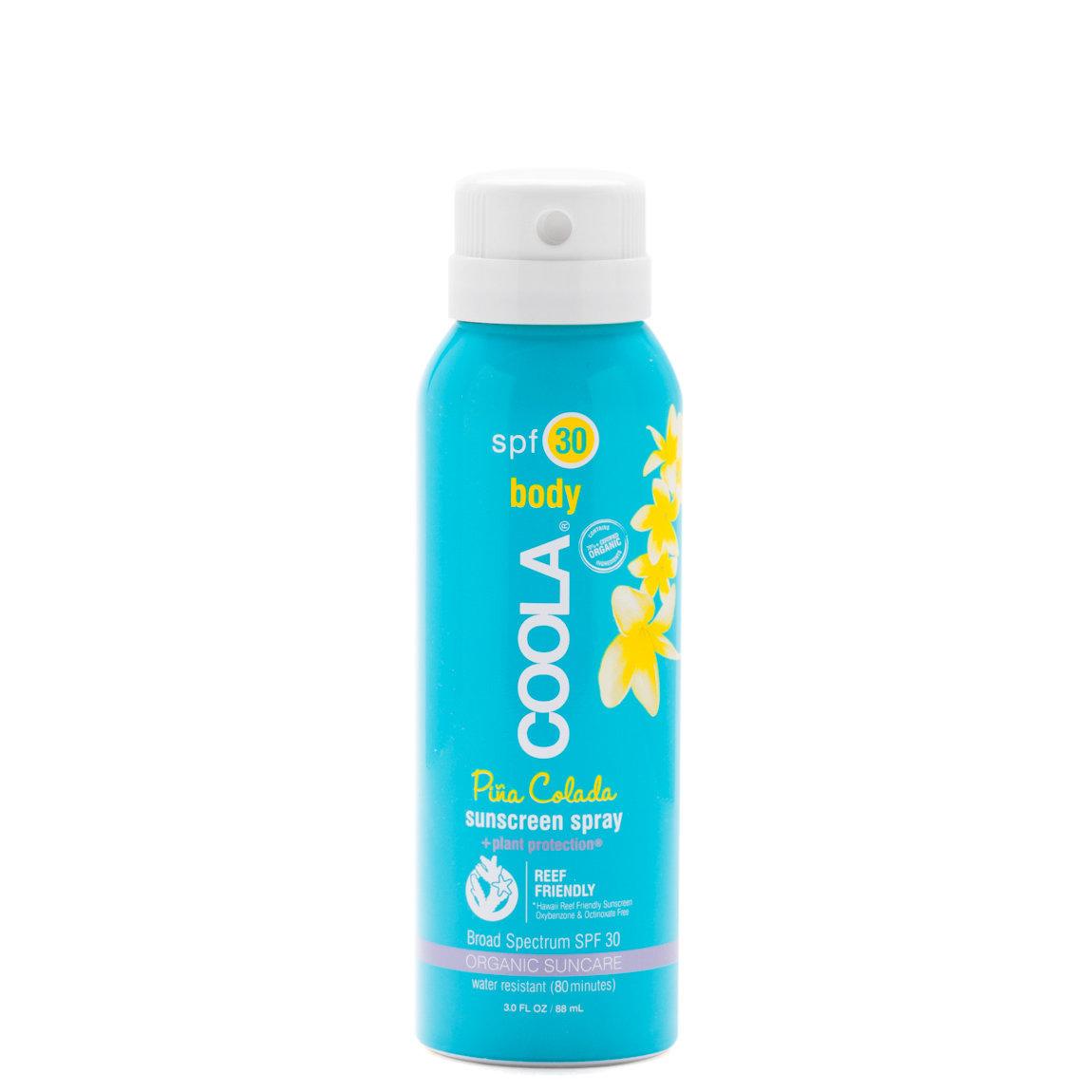 COOLA Travel Sport Sunscreen Spray SPF 30 Piña Colada alternative view 1 - product swatch.