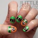 Leprechaun Nail Art!