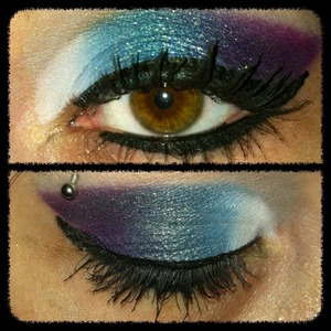 My colorful look today