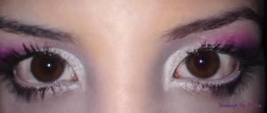 Doll looking eyes that are very captivating.. a great look for valentines day <33