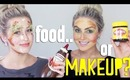 Household Makeup Challenge (FOOD Only!) ♡ ft Karissa Pukas