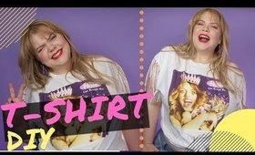 DIY: Rock a Band T-Shirt   Plus Size Fashion