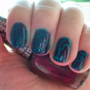 OPI Fly and Super Bass Shatter Polish