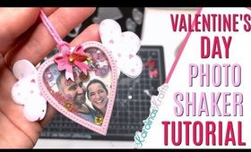 Valentines Day Shaker Tutorial with a Photo, DAY 3 of 14 Days of Crafty Valentines Day