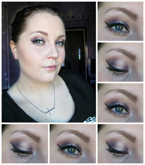Like this makeup so much! For the purple i used Makeup Stores 'Flamenco' The light in the middle i've used my 180th palette  Check out my blog for more information http://epicme.bloggplatsen.se/