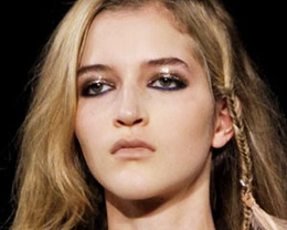 Just Cavalli Makeup, Milan Fashion Week S/S 2012