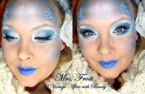 Mrs. Frost fun and just a creative look i whipped up!