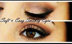 SOFT & EASY Smokey Eyes