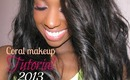 [Coral makeup] SPRING & SUMMER MAKEUP TUTORIAL 2013 Simple look/Maquillage simple à reproduire