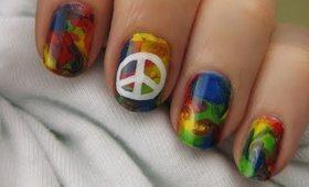 NEW Tie-Dye Hippie Nails!