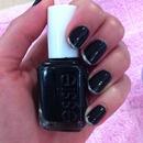 black from Essie #licorice