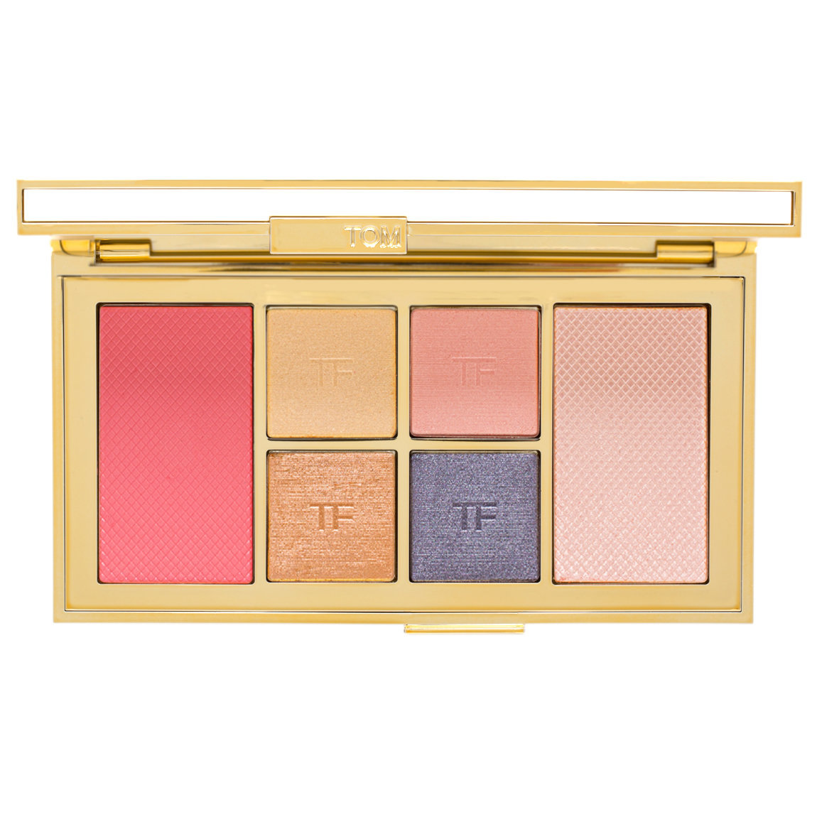 TOM FORD Soleil Eye & Cheek Palette Winter 2018 product smear.
