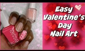 Easy Valentine's Day Nail Tutorial