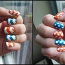 Chevrons And Dots