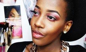 Makeup tons rouge suite teint glowy