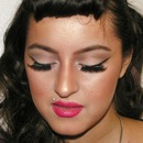 Soft Pinup Inspired look