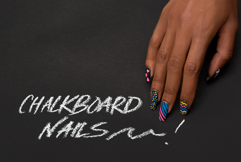 Play With Your Nails! Ciaté\'s Chalkboard Mani and Foil Mani Kits ...