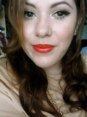 Just bought the Hey Sailor! Lipglass in Riviera Life and love the way it looks over a red liner! Thanks to Jamie at my local MAC for the great look!
