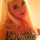 Bleach Blonde Pin Up