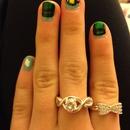 flappy bird nails!!!!🐤☁️💅