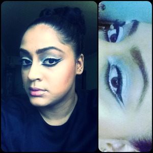 Black & white liners.