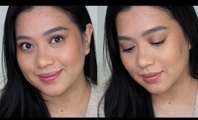 Duping the Glossier vibe, a natural foundation routine