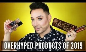 Overhyped Beauty Products Of 2019! Fail Or Fan? PT 2 | mathias4makeup