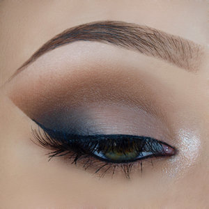Fall smokey eye on https://michellemorchella.blogspot.com/2016/11/fall-smokey-eyes.html