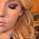 Red Glitter Eyes for Valentine's!