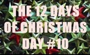 THE 12 DAYS OF CHRISTMAS: Day #10 (Winterlicious Tag!)