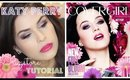 Drugstore Makeup Tutorial - Katy Perry Covergirl Purple Smokey Eye - Collab with Lacy Nicole!
