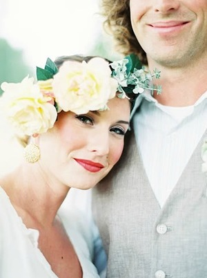 Styled wedding shoot with bridal hair and makeup