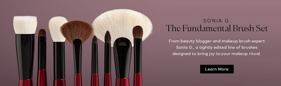 Learn more about the Sonia G. Fundamental Brush Set