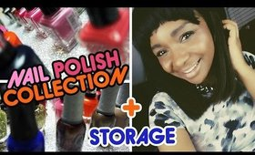 My Nail Polish Collection & Storage | CloseupwithKamii
