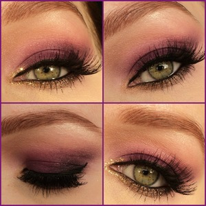 Which one do you like best, with or without the glitters? Follow me on IG: http://instagram.com/makeupbyeline/